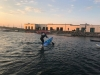 Evening paddle at Kajakhotellet
