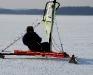 Jørgen med Isabella Rosso - Arresøen d. 23/1 2010