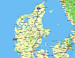 Tur igennem Danmark 4/7 2010