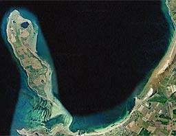 Satelit billede af Nekselø