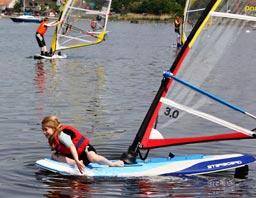 Windsurfing for de helt små