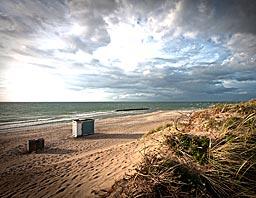 Stranden i Tisvilde